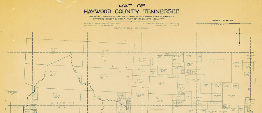 Maps At The Tennessee State Library And Archives Tennessee - Tn state map