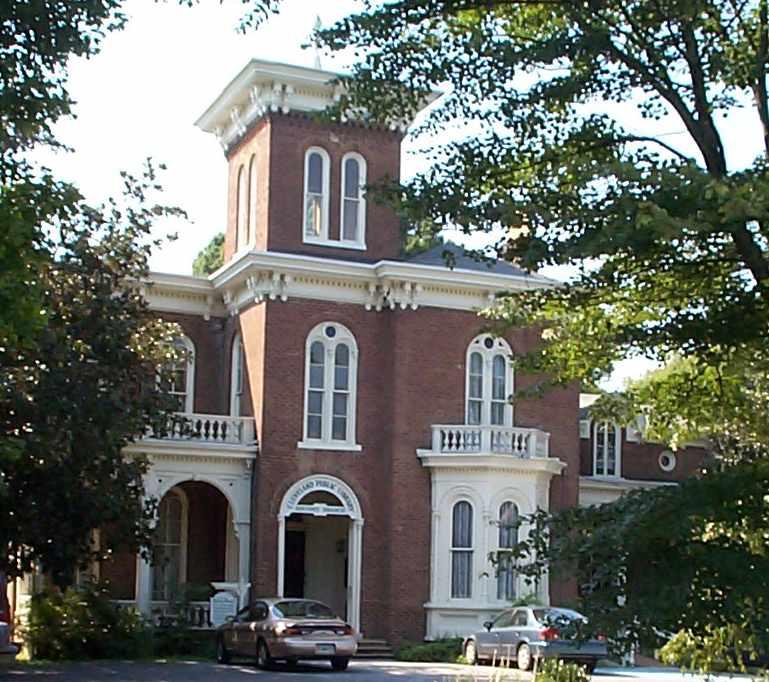 Cleveland Bradley County Public Library History Branch