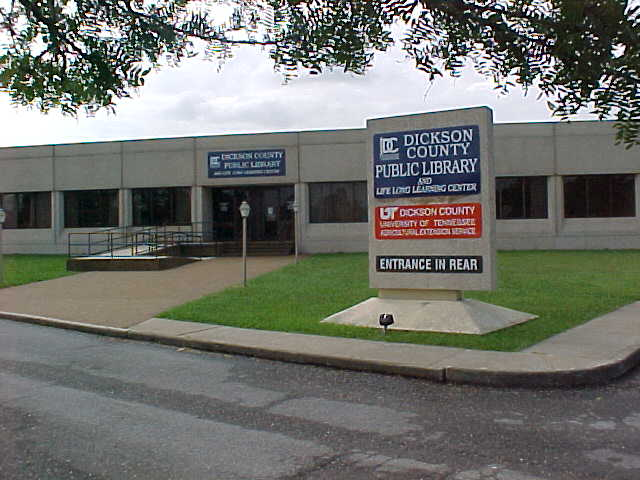 Dickson County Public Library & Life Long Learning Center